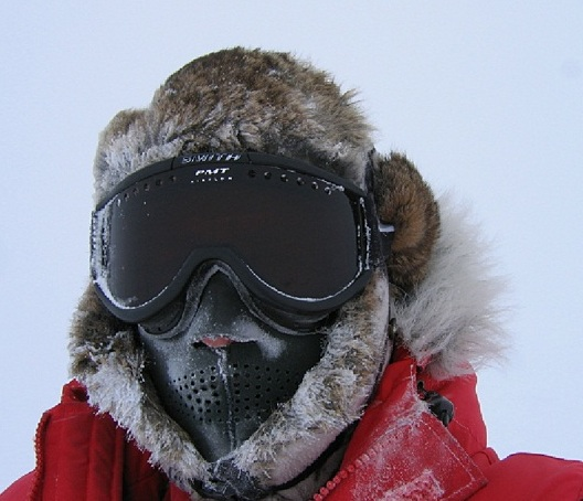 Extreme cold face protection