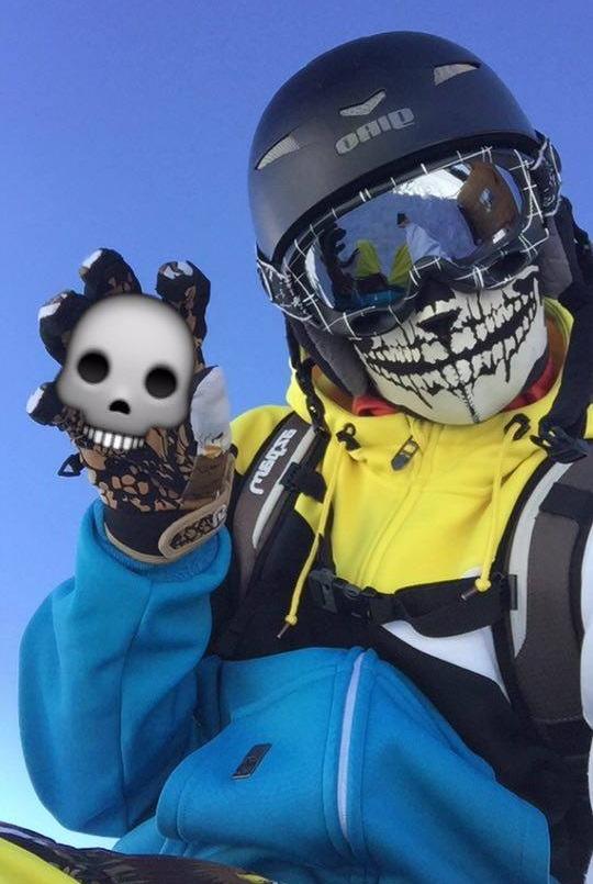 Facemask Skull