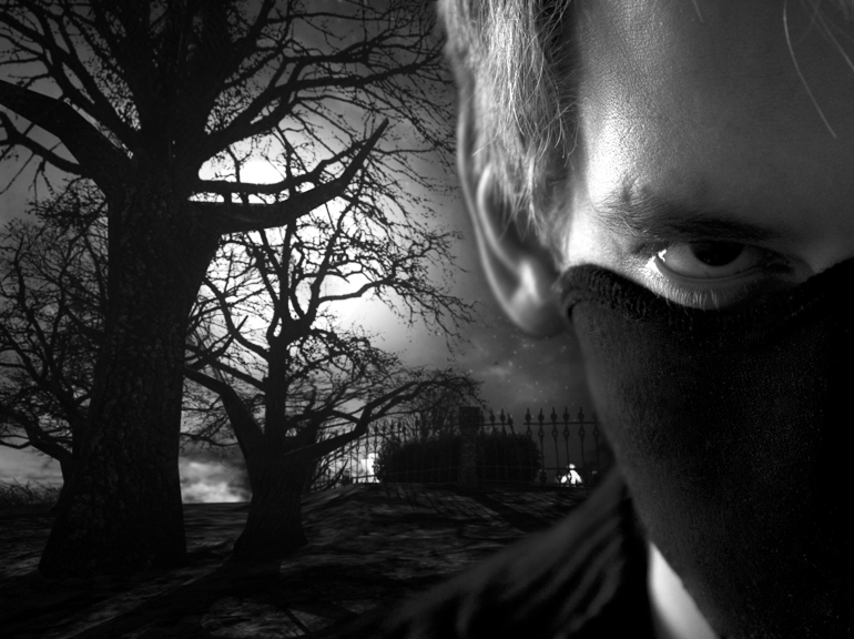 Facemask zwart