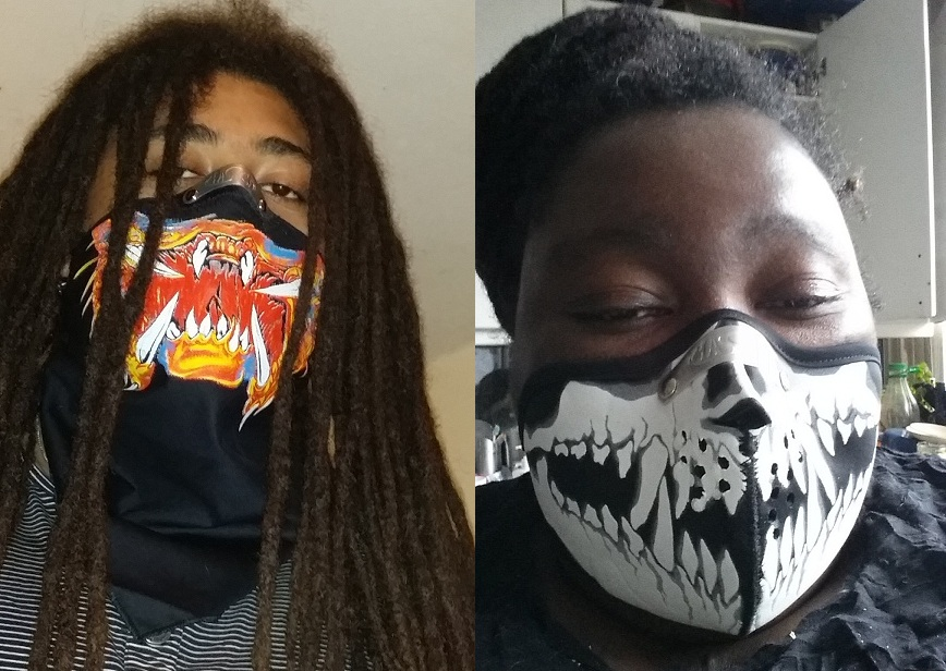 Bandana Predator en Facemask Skull Fangs