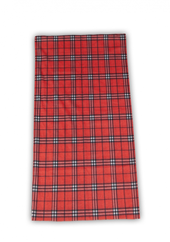 Bandana Scarf Red Checkered
