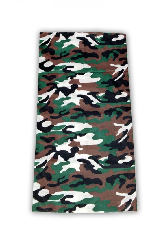 bandanasjaal_woodland_camouflage_tube