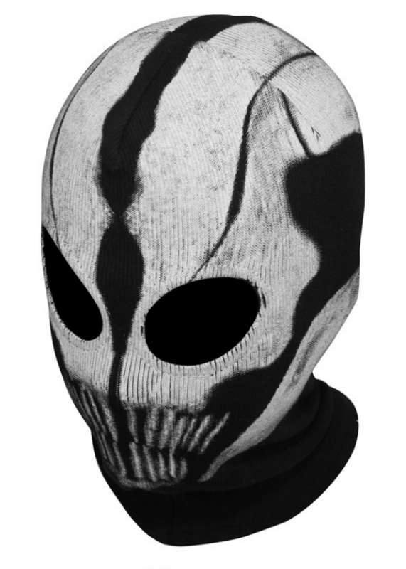 Ghost Balaclava Mouthful
