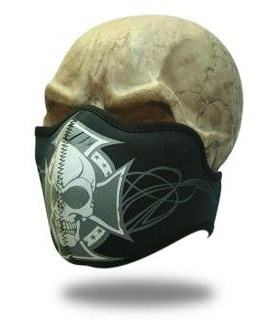 Facemask Crossed Skull