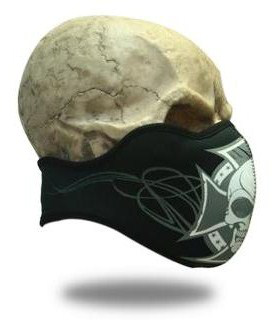 Face Mask Crossed Skull