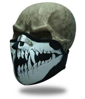 Facemask Skull Fangs