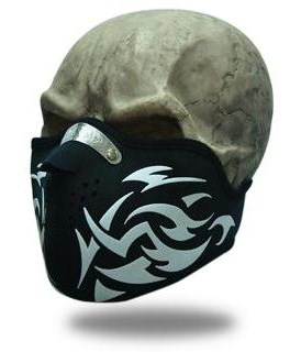 Facemask Tribal