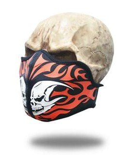 Face Mask Tribal Skull