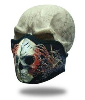 Facemask Wired Skull