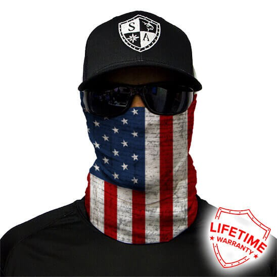 Face Shield American Flag