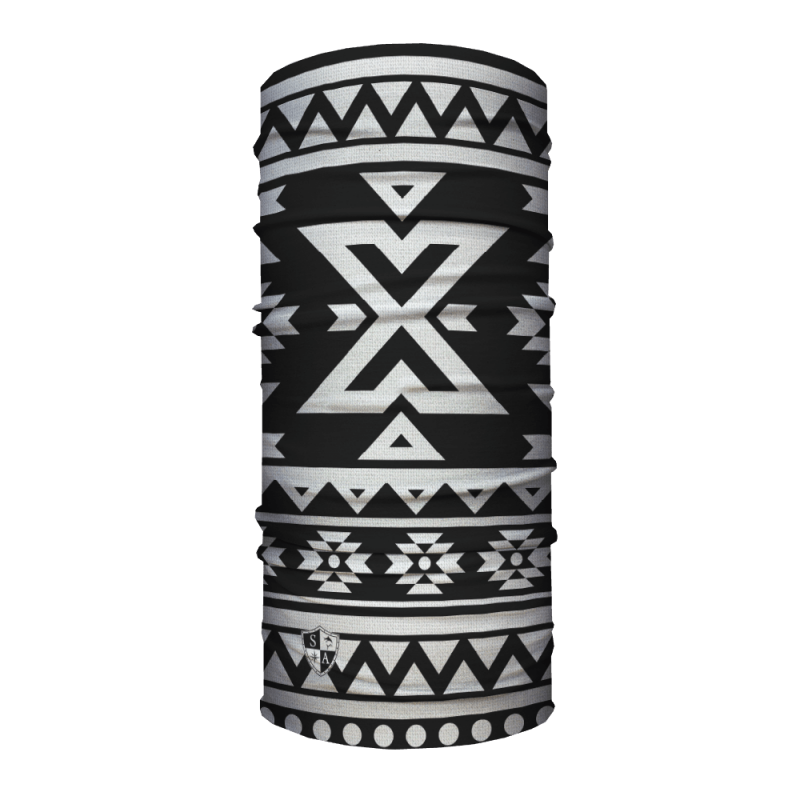 Faceshield Aztec Black and White