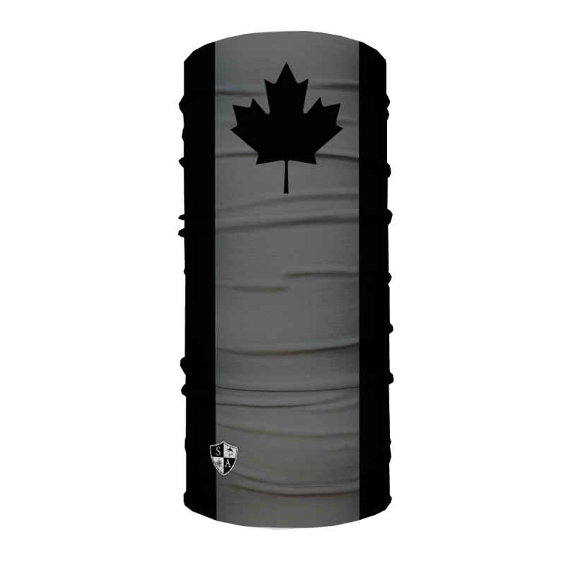 Face Shield Blackout Canada Flag