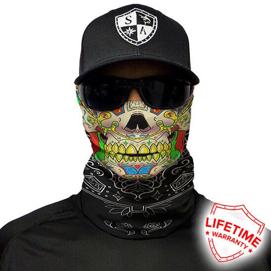 Face Shield Calavera Skull