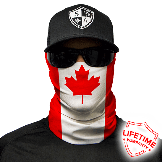 Face Shield Canada Flag