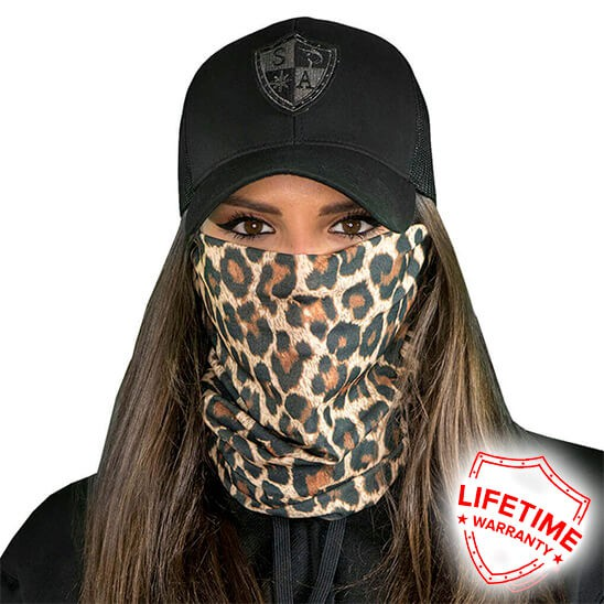 Face Shield Cheetah