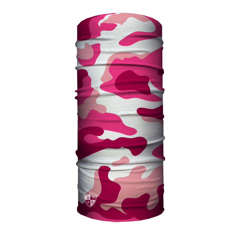 Faceshield Pink Camo