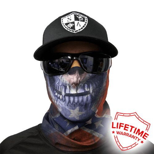 Faceshield Rebel Skull