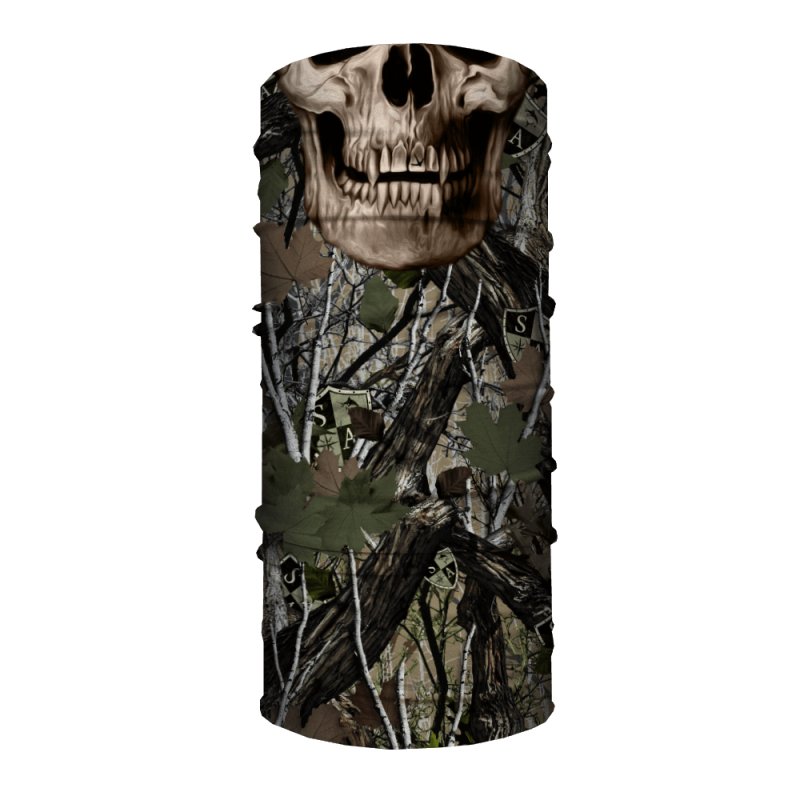 Faceshield SA Forest Camo Dregs Skull