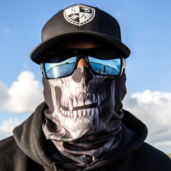 Face Shield Skull Tech Crow