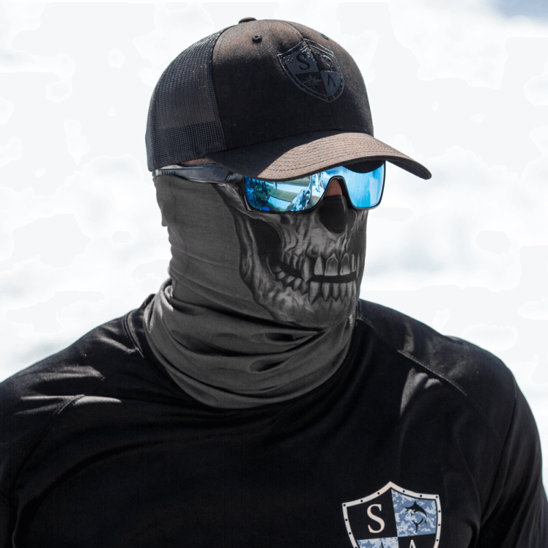 Faceshield Tactical Grey Skull